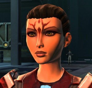 Evil Sith don't need no stinkin Barbie hair.