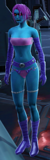 Random Image From Hall Of Shame:  Chiss Pink and Purple