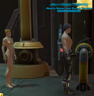 Random Image From Hall Of Shame:  Nearly Naked