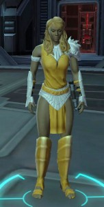 Friends don't let friends dye their armor creamsicle.
