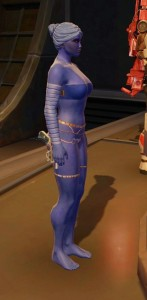 Blue Chiss lady