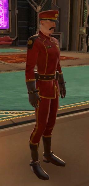 Rawr.  Nothing like a man in uniform.