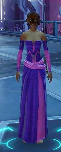 The outfit's fine but I'm not sure on those dyes