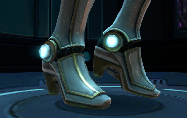 Robots wearing sensible shoes...